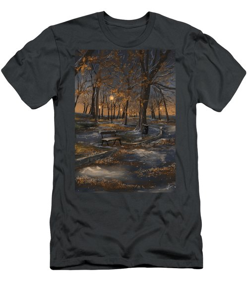 First Snowfall Men's T-Shirt (Athletic Fit)