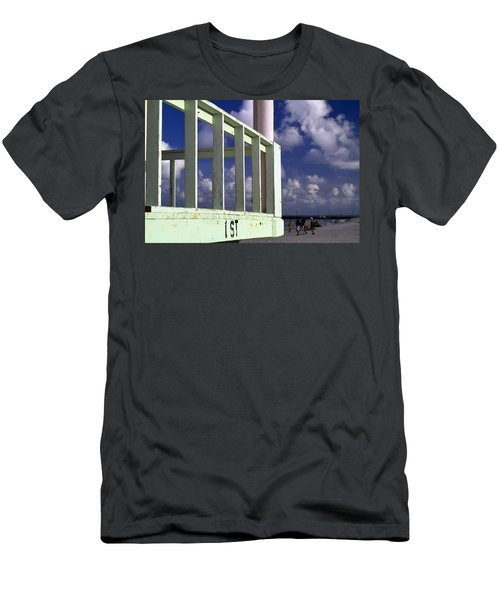 First Street Porch Men's T-Shirt (Athletic Fit)