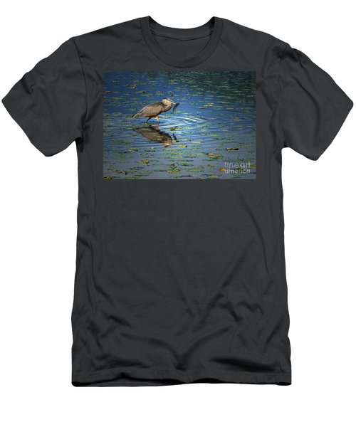 Fish For Dinner Men's T-Shirt (Athletic Fit)