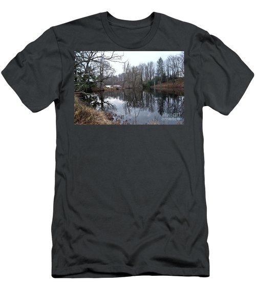Fishing With Grandma Men's T-Shirt (Athletic Fit)