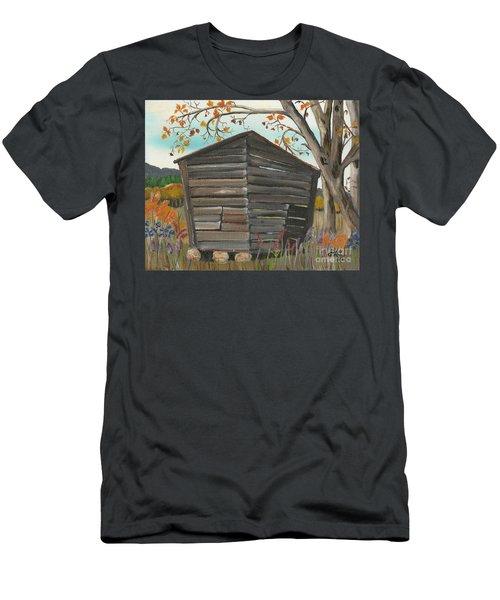 Autumn - Shack - Woodshed Men's T-Shirt (Athletic Fit)