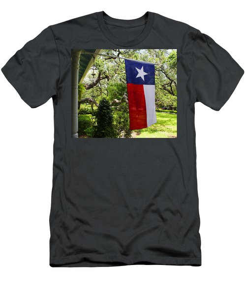 Texas The Lone Star State -  Luther Fine Art Men's T-Shirt (Athletic Fit)
