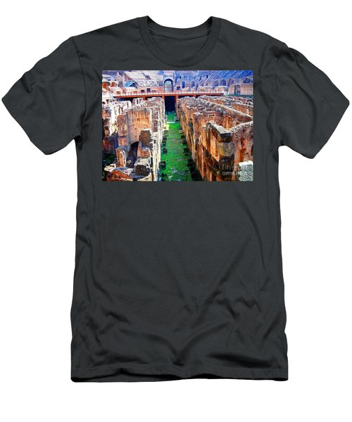 Flavian Amphitheatre Men's T-Shirt (Athletic Fit)