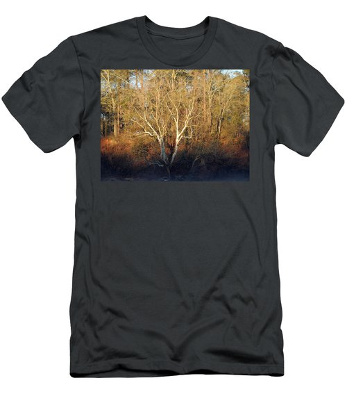 Men's T-Shirt (Slim Fit) featuring the photograph Flint River 16 by Kim Pate
