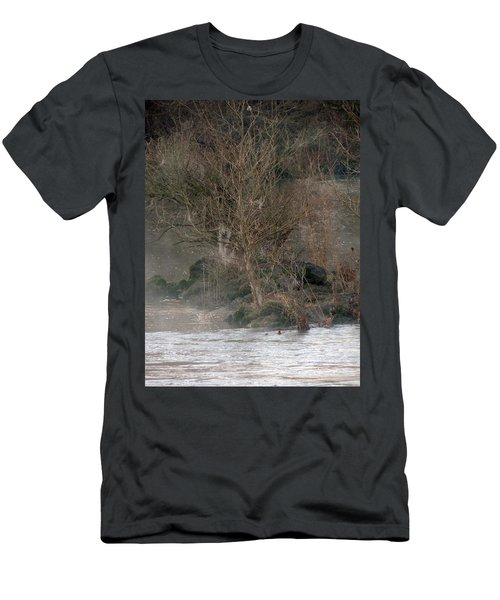 Men's T-Shirt (Slim Fit) featuring the photograph Flint River 19 by Kim Pate