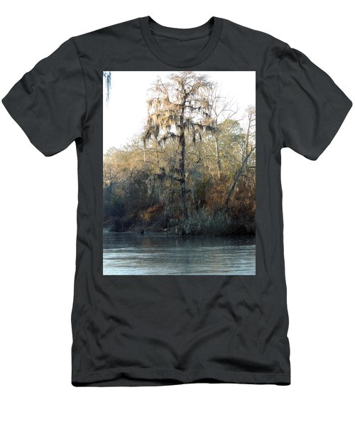 Men's T-Shirt (Slim Fit) featuring the photograph Flint River 30 by Kim Pate