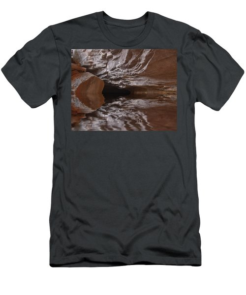 flooded Ohio cave Men's T-Shirt (Athletic Fit)