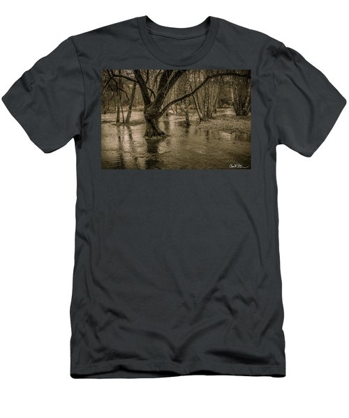 Flooded Tree Men's T-Shirt (Athletic Fit)