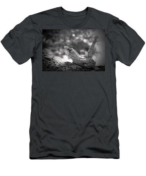 Florida Keys Driftwood Men's T-Shirt (Slim Fit) by Bradley R Youngberg