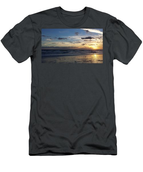 Men's T-Shirt (Slim Fit) featuring the photograph Florida Sunrise by Ally  White