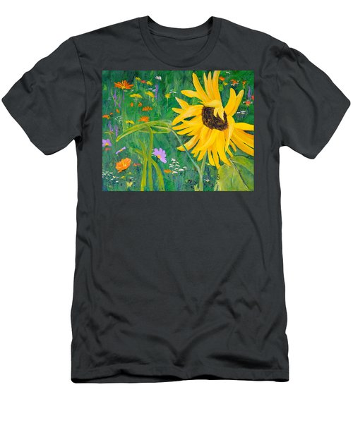 Flower Fun Men's T-Shirt (Athletic Fit)
