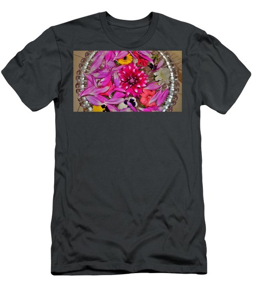 Flower Offerings - Jabalpur India Men's T-Shirt (Athletic Fit)