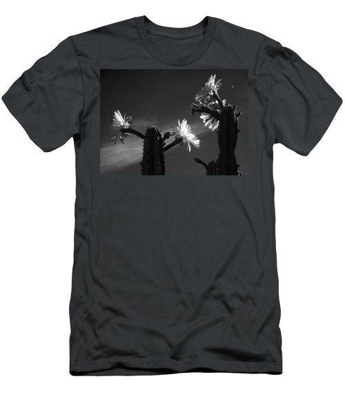 Flowering Cactus 4 Bw Men's T-Shirt (Athletic Fit)