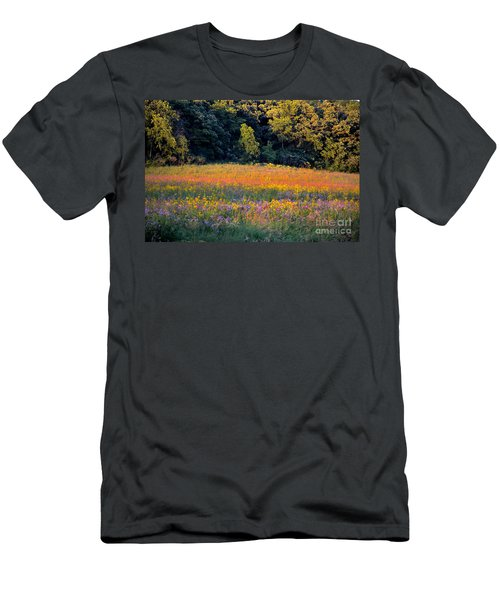 Flowers In The Meadow Men's T-Shirt (Athletic Fit)