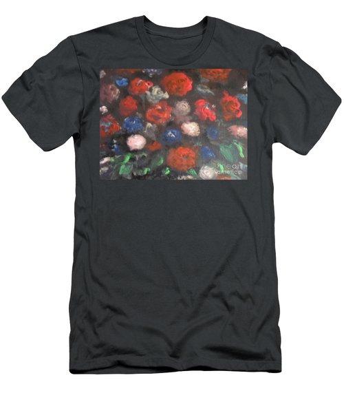 American Floral Men's T-Shirt (Athletic Fit)