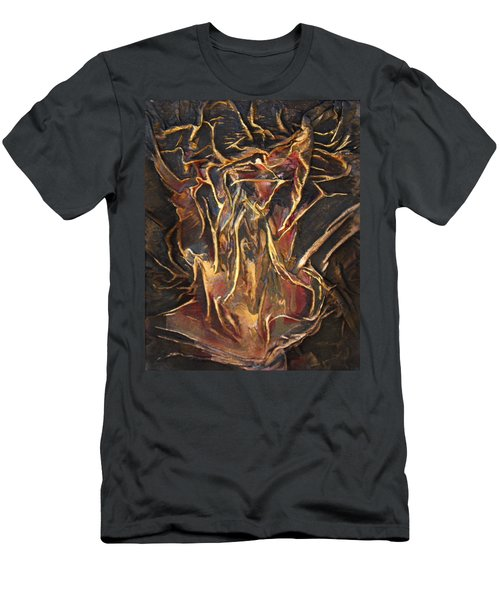Flowing Tree Woman Men's T-Shirt (Athletic Fit)