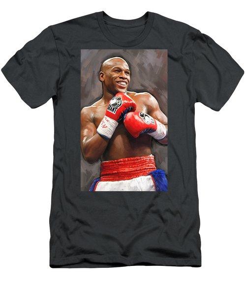 Floyd Mayweather Artwork Men's T-Shirt (Athletic Fit)