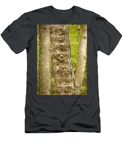 Fluted Tree Men's T-Shirt (Athletic Fit)
