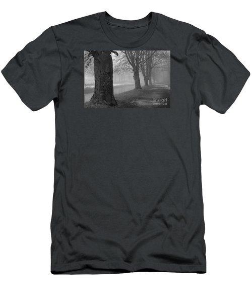 Foggy Day Men's T-Shirt (Slim Fit) by Randi Grace Nilsberg