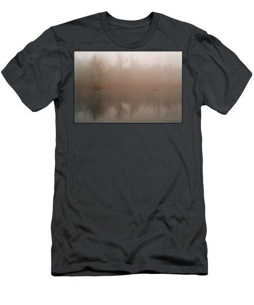 Foggy Reflection Men's T-Shirt (Athletic Fit)