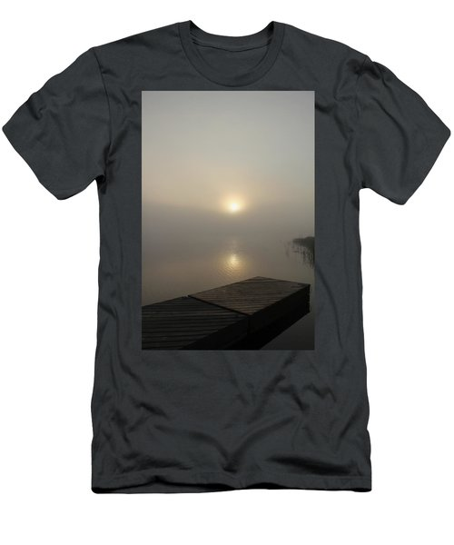 Foggy Reflections Men's T-Shirt (Athletic Fit)