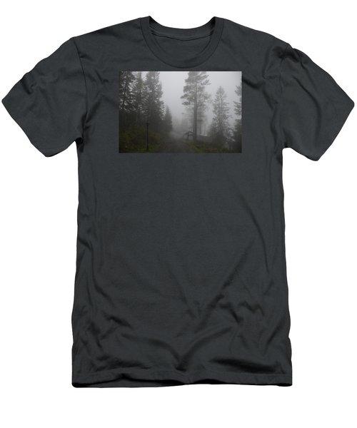 Foggy Romance 1 Men's T-Shirt (Athletic Fit)