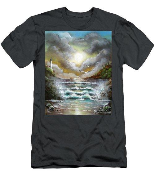 Follow The Wind Men's T-Shirt (Athletic Fit)