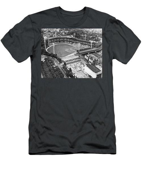 Forbes Field In Pittsburgh Men's T-Shirt (Athletic Fit)