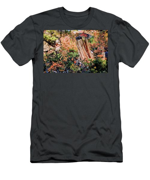 Forest Floral Men's T-Shirt (Athletic Fit)