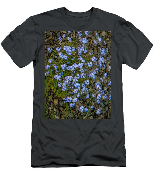 Forget-me-nots Men's T-Shirt (Athletic Fit)
