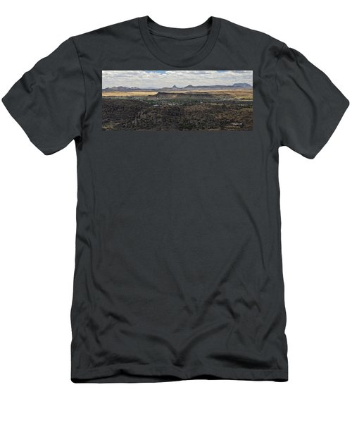 Fort Davis From Davis Mountains State Park Men's T-Shirt (Athletic Fit)