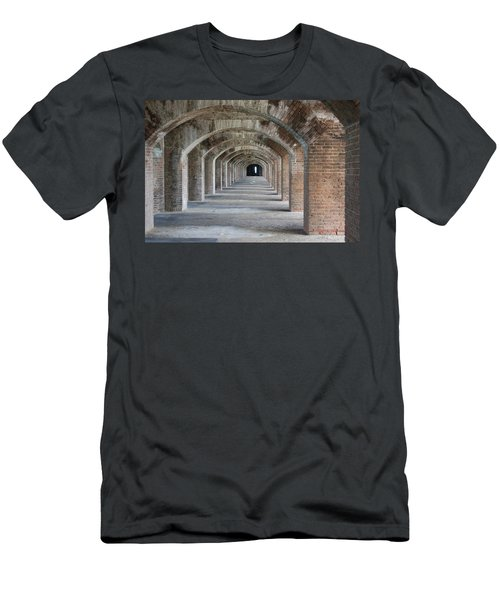 Fort Jefferson Arches Men's T-Shirt (Athletic Fit)