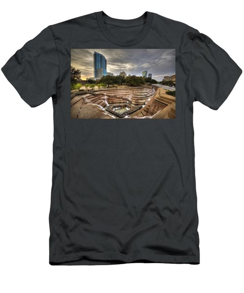 Fort Worth Water Garden Men's T-Shirt (Athletic Fit)