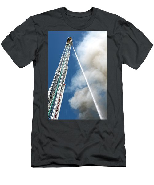 Four Alarm Blaze 001 Men's T-Shirt (Athletic Fit)