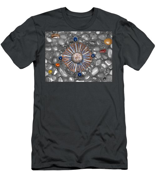 Four Corners Of The Sun Men's T-Shirt (Athletic Fit)