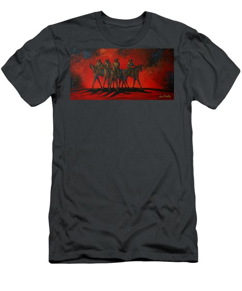 Four On The Hill Men's T-Shirt (Athletic Fit)