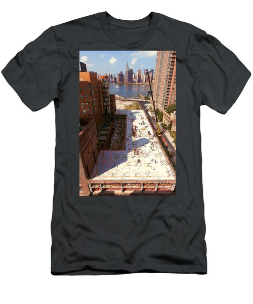 Fourth Floor Slab Men's T-Shirt (Athletic Fit)