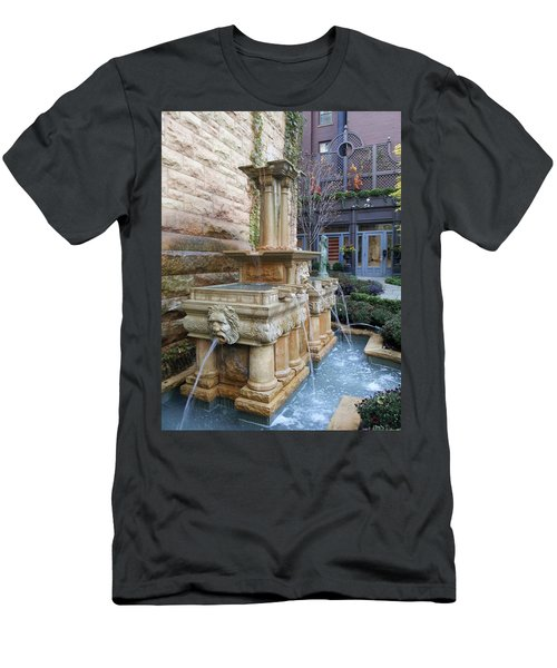Fountain Men's T-Shirt (Athletic Fit)