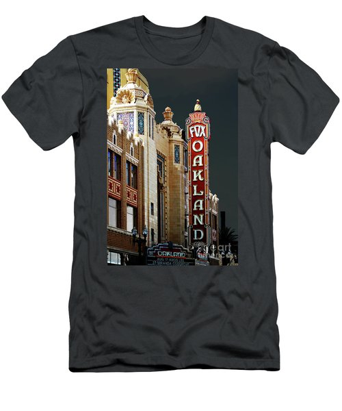 Fox Theater . Oakland California Men's T-Shirt (Athletic Fit)