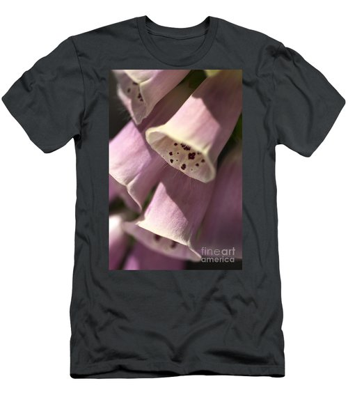 Men's T-Shirt (Slim Fit) featuring the photograph Foxglove by Joy Watson