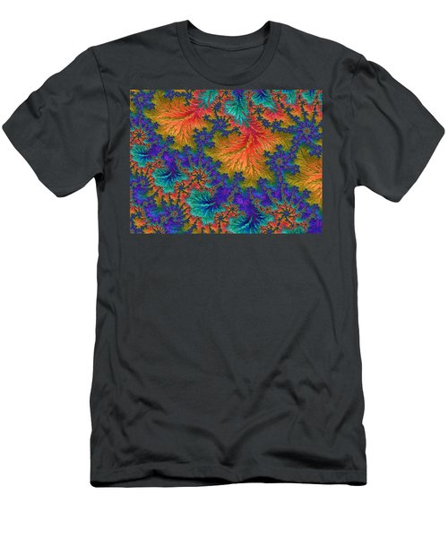 Fractal Jewels Series - Jubilation Men's T-Shirt (Athletic Fit)