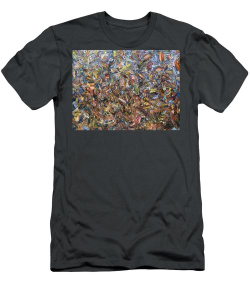 Fragmented Fall Men's T-Shirt (Athletic Fit)