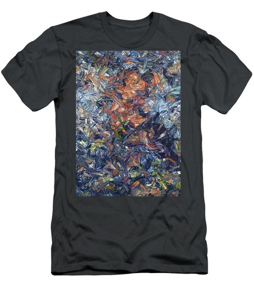 Fragmented Man Men's T-Shirt (Athletic Fit)