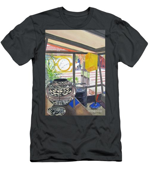 Frank Lloyd Wright Taliesin West Men's T-Shirt (Athletic Fit)