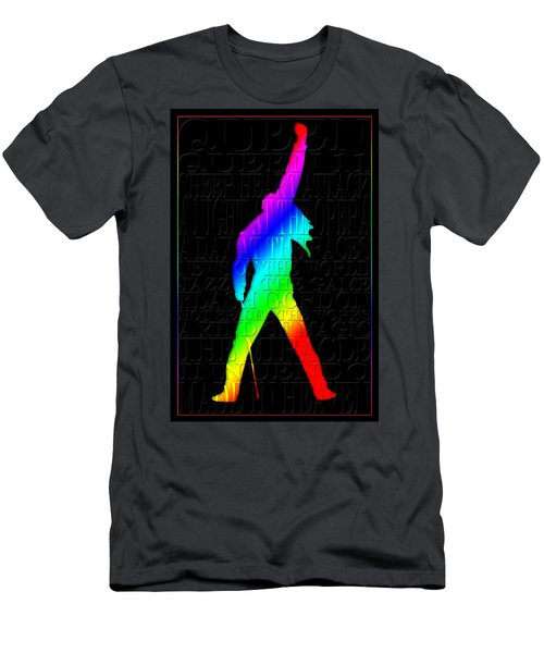 Freddie Mercury 2 Men's T-Shirt (Athletic Fit)