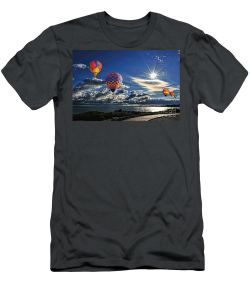 Free As A Bird Men's T-Shirt (Slim Fit) by Andrea Kollo