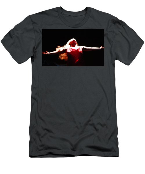 Men's T-Shirt (Athletic Fit) featuring the photograph Freedom by KG Thienemann