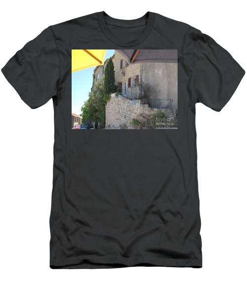 French Riviera - Ramatuelle Men's T-Shirt (Slim Fit) by HEVi FineArt