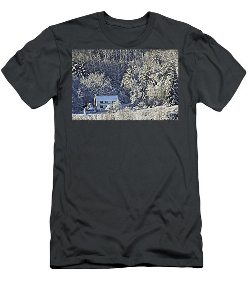 Fresh Snow Men's T-Shirt (Slim Fit) by Tom Culver