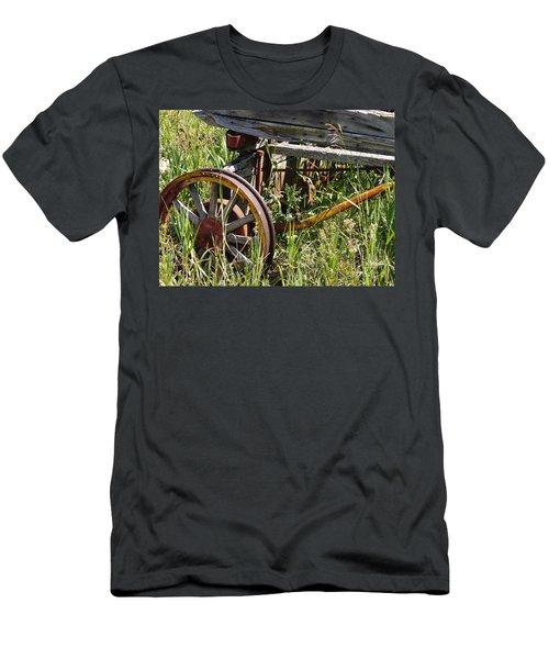 From Rust To Grass Men's T-Shirt (Slim Fit) by Meghan at FireBonnet Art
